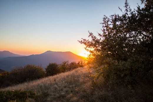 закат над Чатыр-дагом