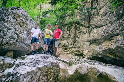 Туристы Крыма